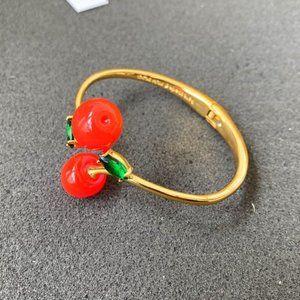 Kate Spade Cherry Alexandrite Inlaid Bracelet